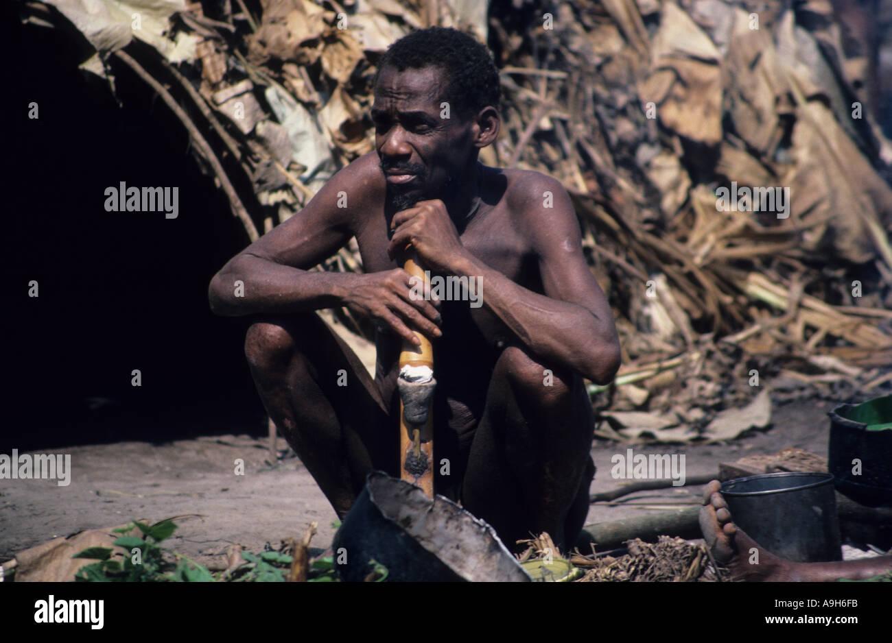 afrikanische reife Röhre