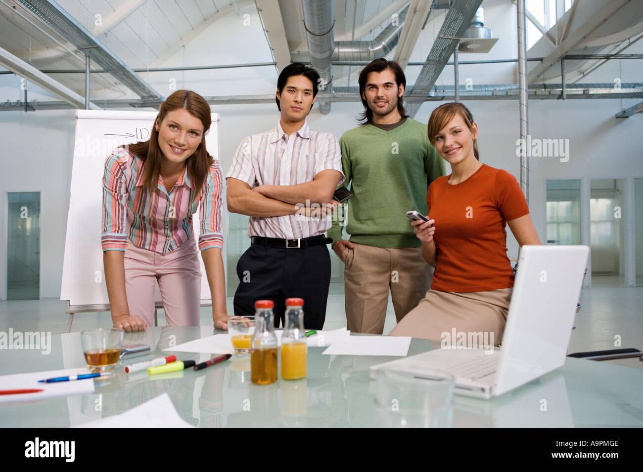 Junges Unternehmen Stockbild