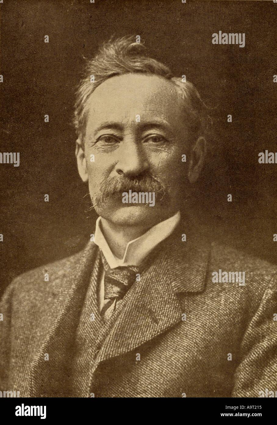 Eden Phillpotts, 1862 der 1960er. Englisch Science Fiction Schriftsteller, Dichter und Dramatiker Stockbild