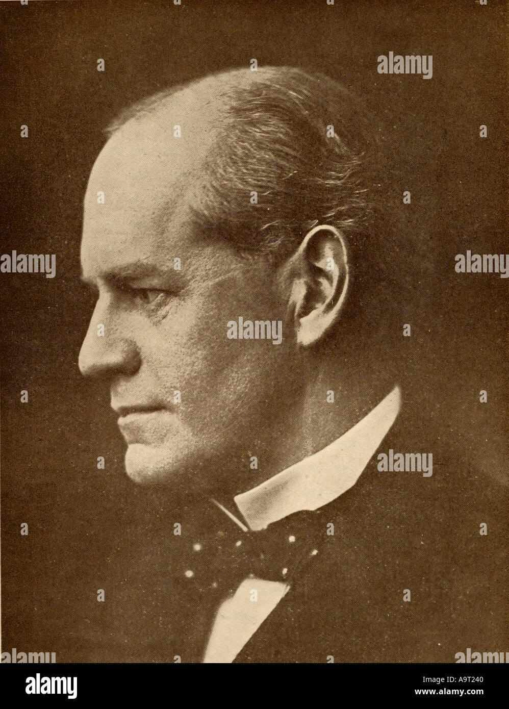John Galsworthy, 1867 - 1933. Englische Schriftsteller und Dramatiker. Sieger der Nobelpreis für Literatur 1932. Stockbild