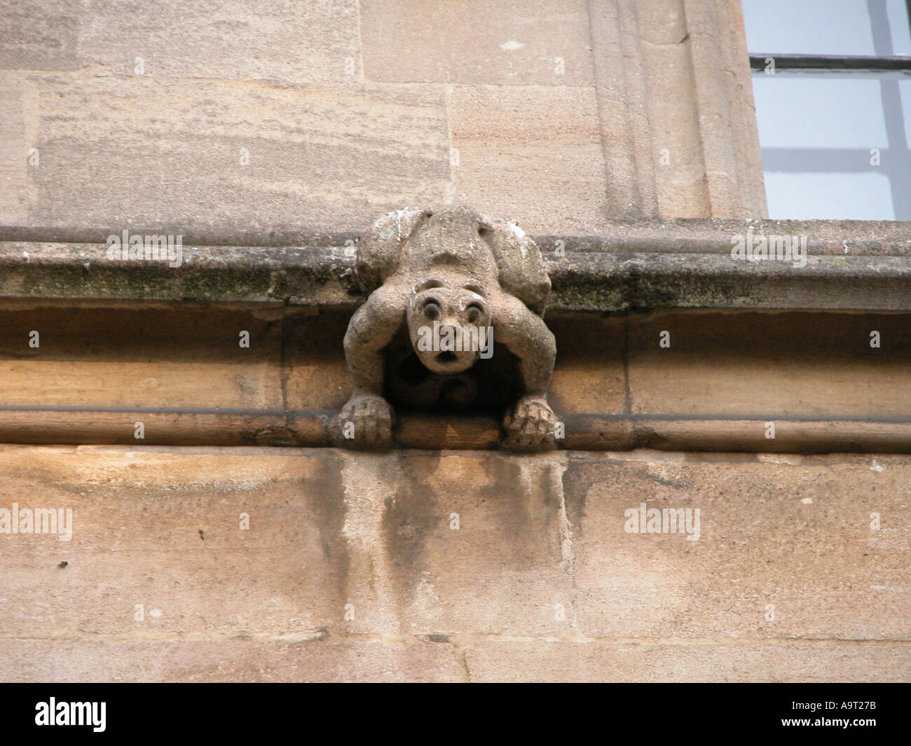Oxford-Gargoyle Stockbild