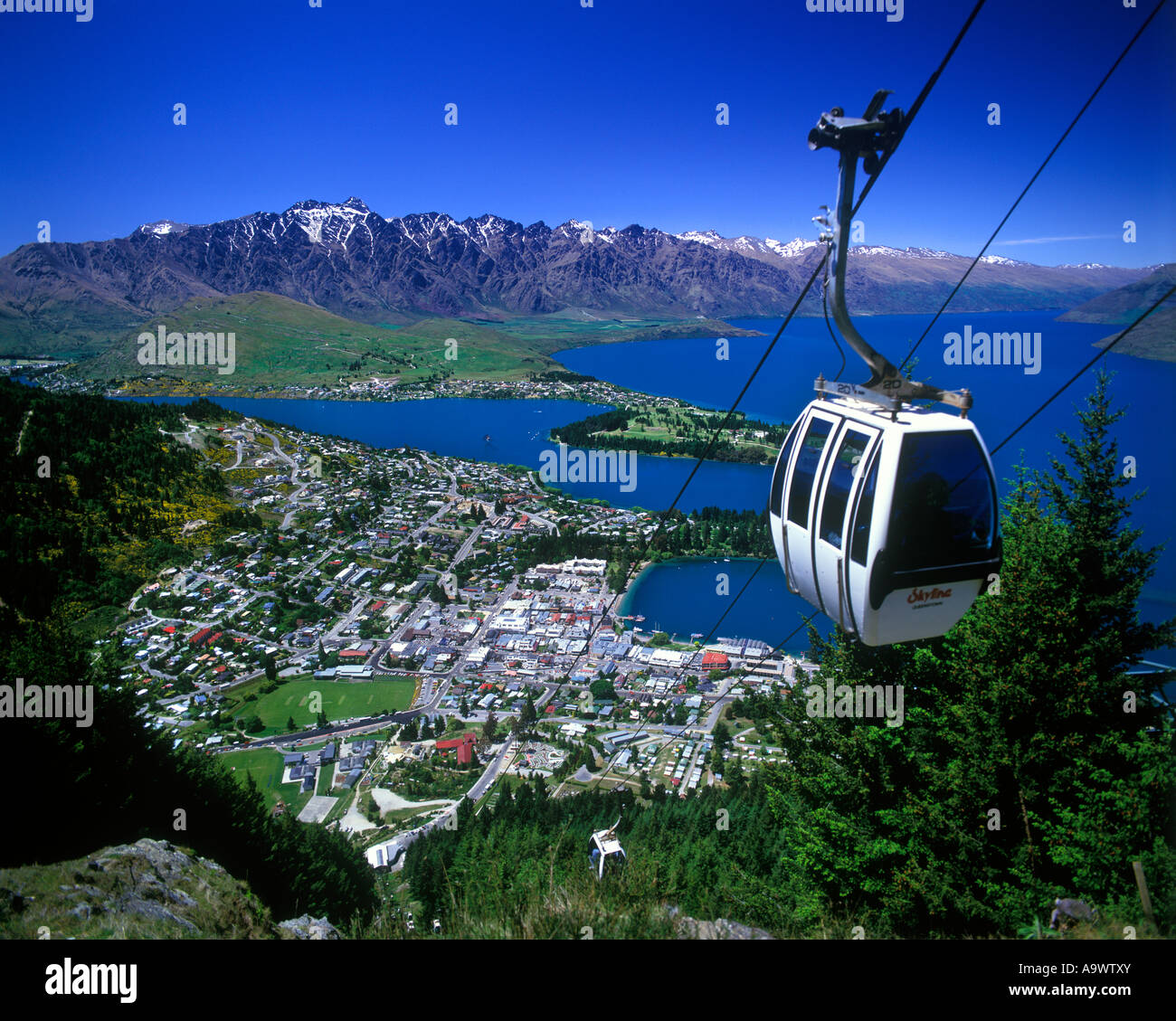 Cable Automotive Oklahoma City : Skyline gondola kabel auto lake wakatipu queenstown