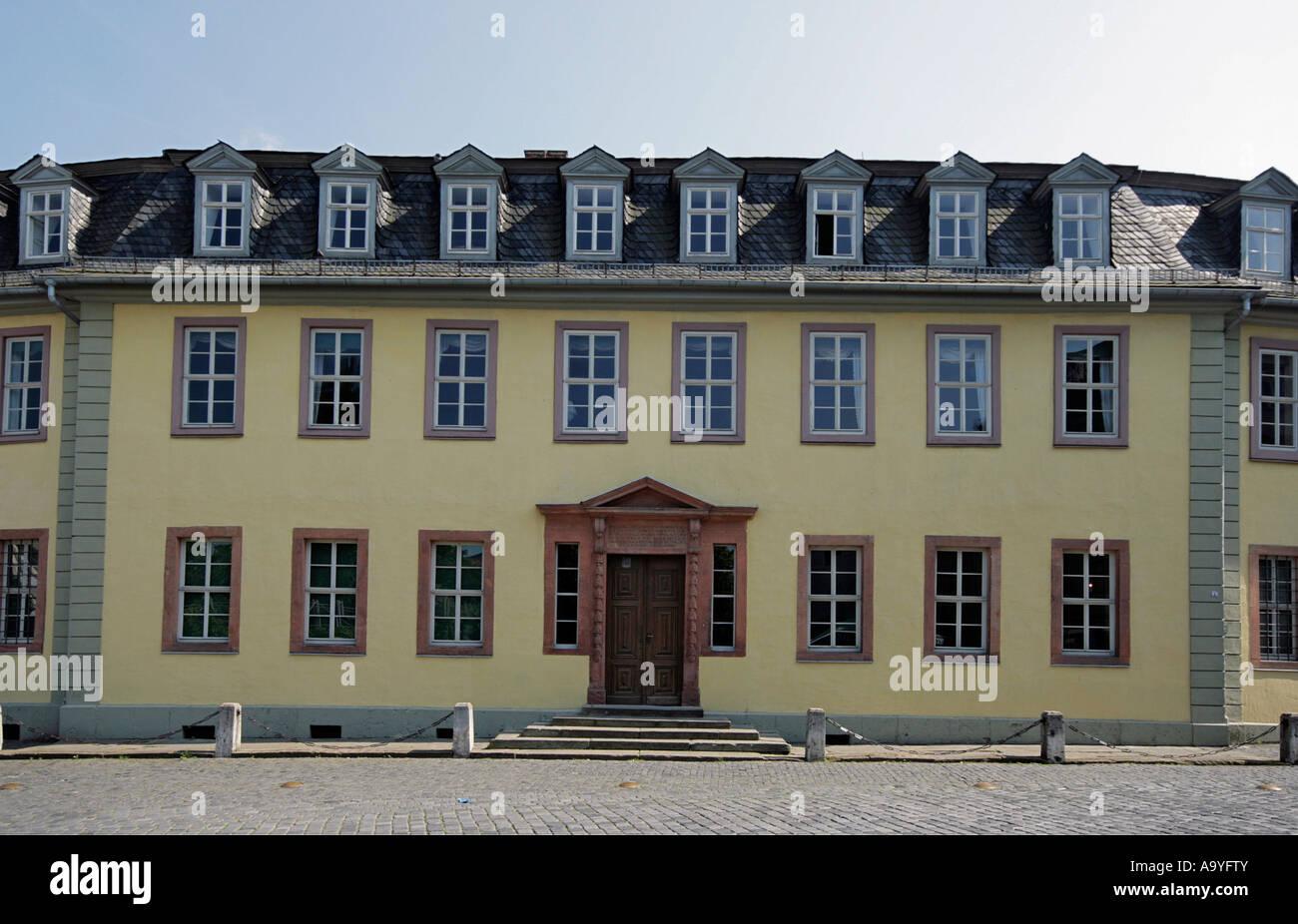 Goethe Haus Wohnsitz von Johann Wolfgang von Goethe