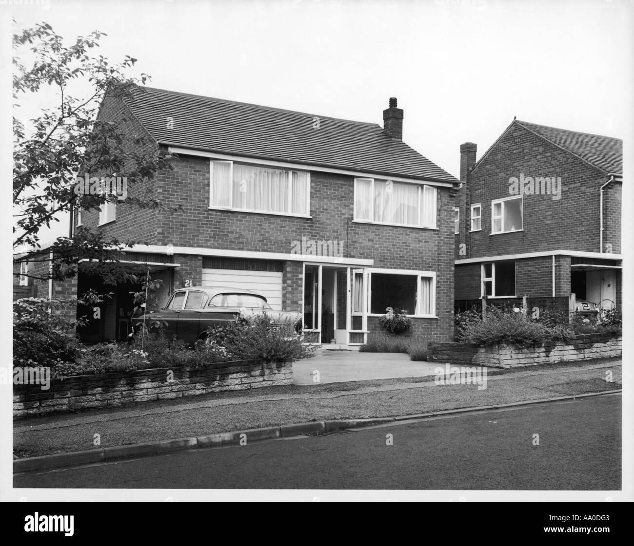 Modernes Haus Der 1960er Jahre
