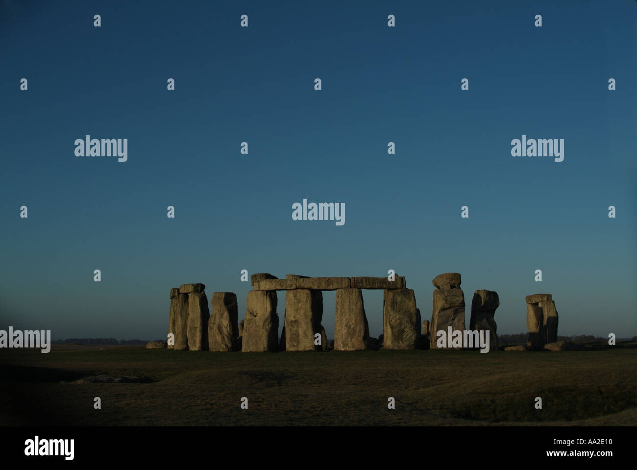Totale, Stonehenge, Wiltshire Stockbild