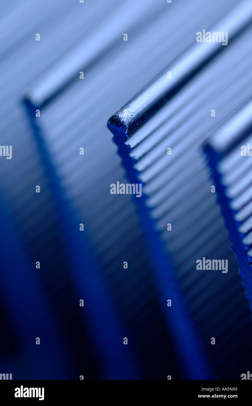 Verstärker-Hitzeschild Stockbild