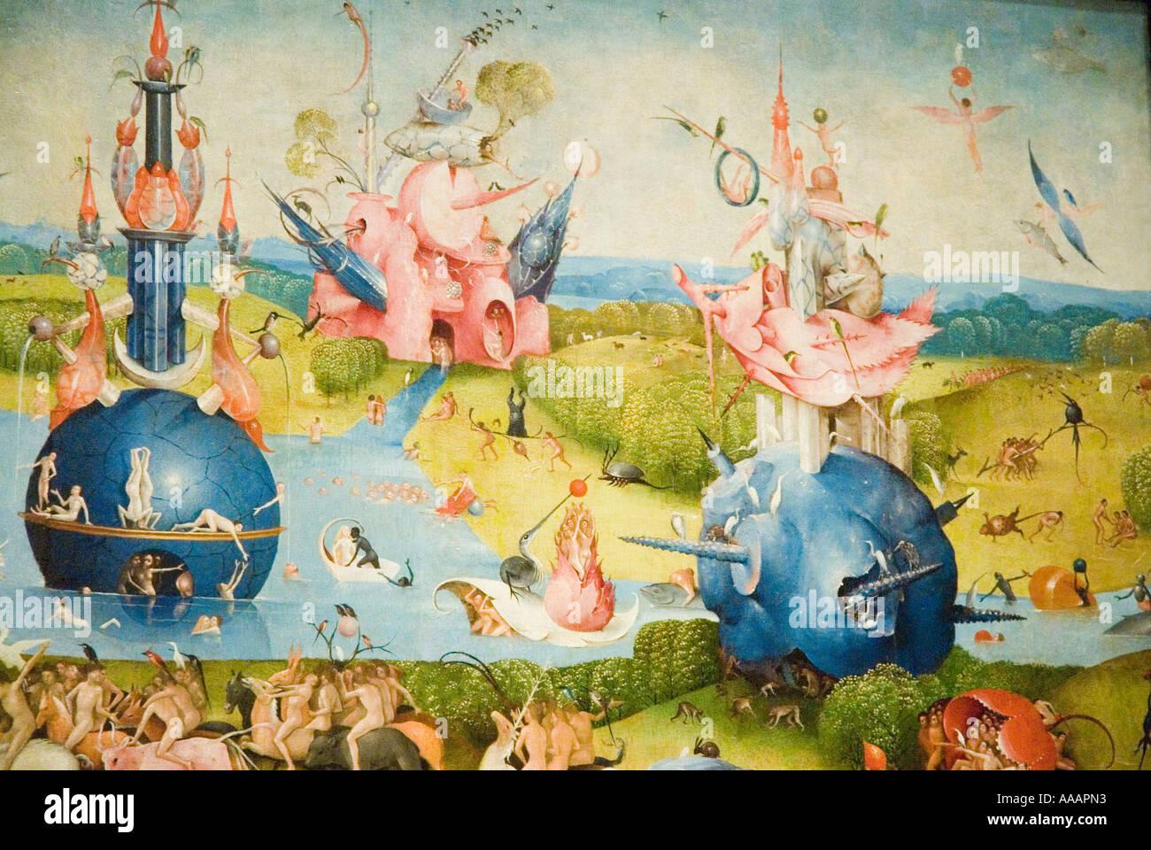 Der Garten Der Luste Gemalde Von Hieronymus Bosch Prado Museum