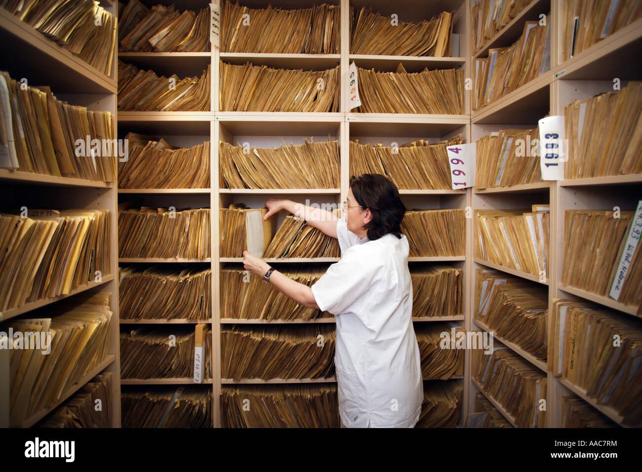 Altonaer Kinderkrankenhaus s das Archiv der Radiologie Stockbild