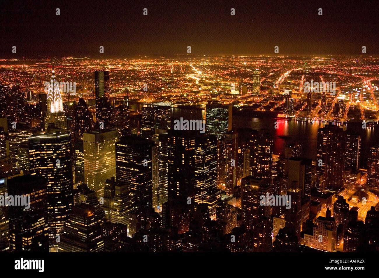17+ Nacht Aussicht von Spitze des Empire State Building suchen ... Kollektion