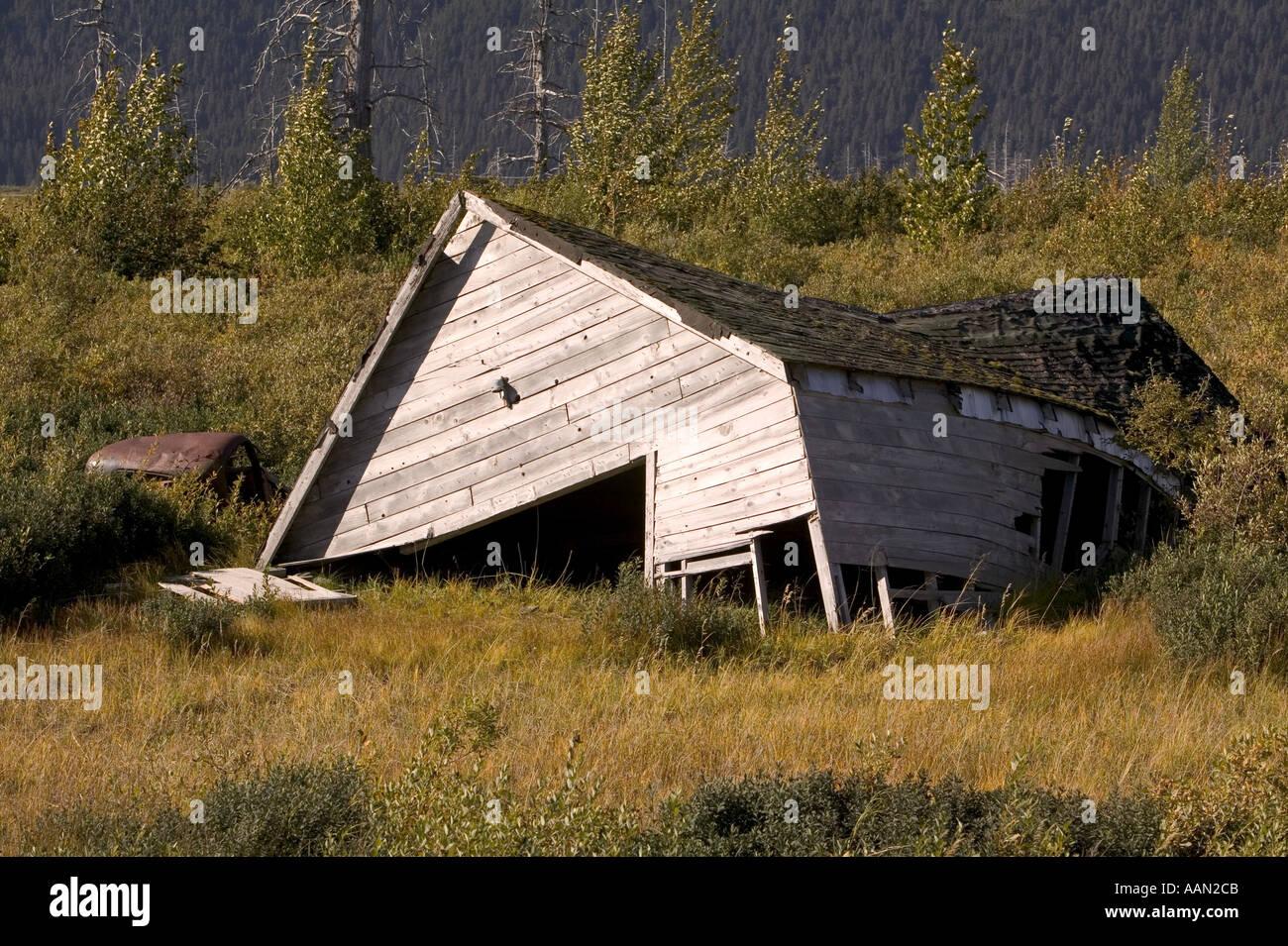 Alaska Haus Kaufen haus in alaska durch permafrostböden verursacht durch globalwarming