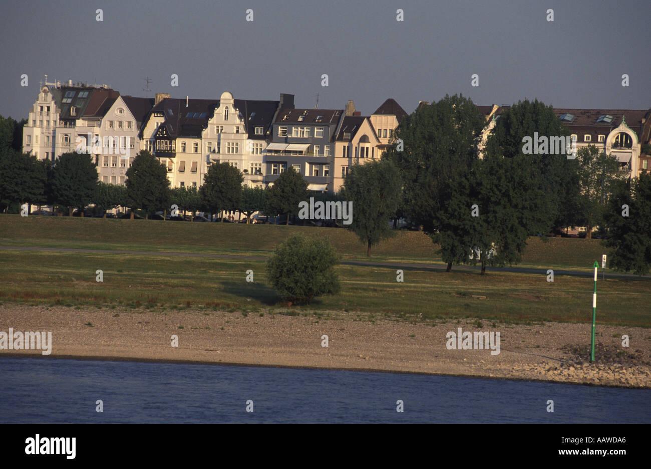 Oberkassel, Rhein, Düsseldorf, Deutschland Stockfoto, Bild: 2366885 ...