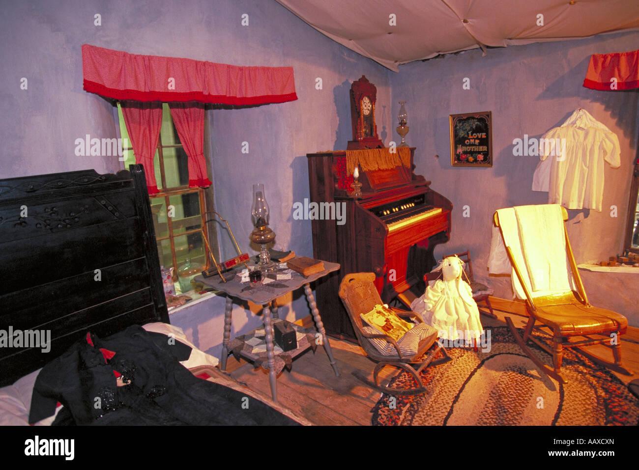 Elk279 2110 Oklahoma Aline Sod House Museum 1894 nur originale ...