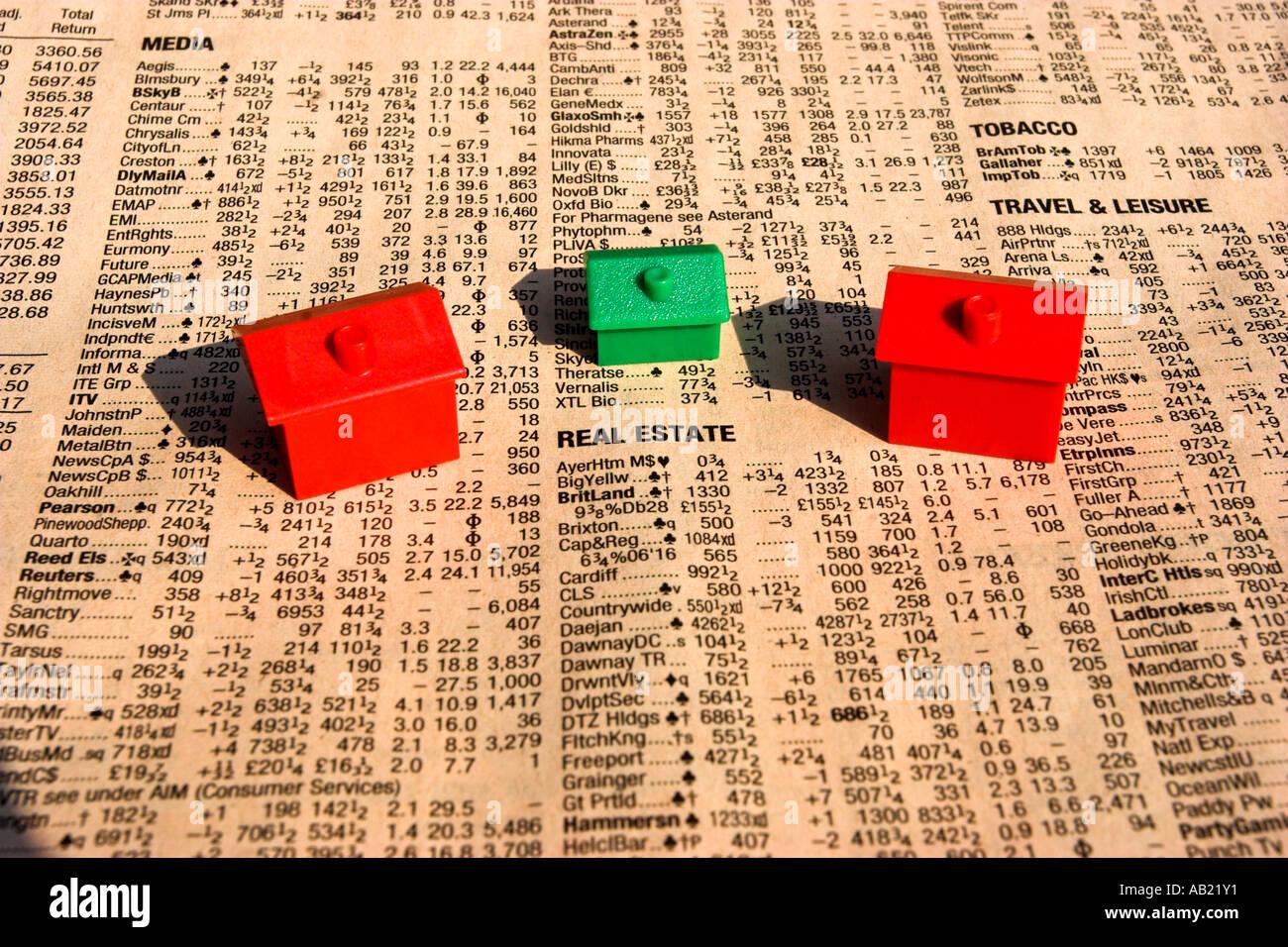 Immobilien-investment Stockbild