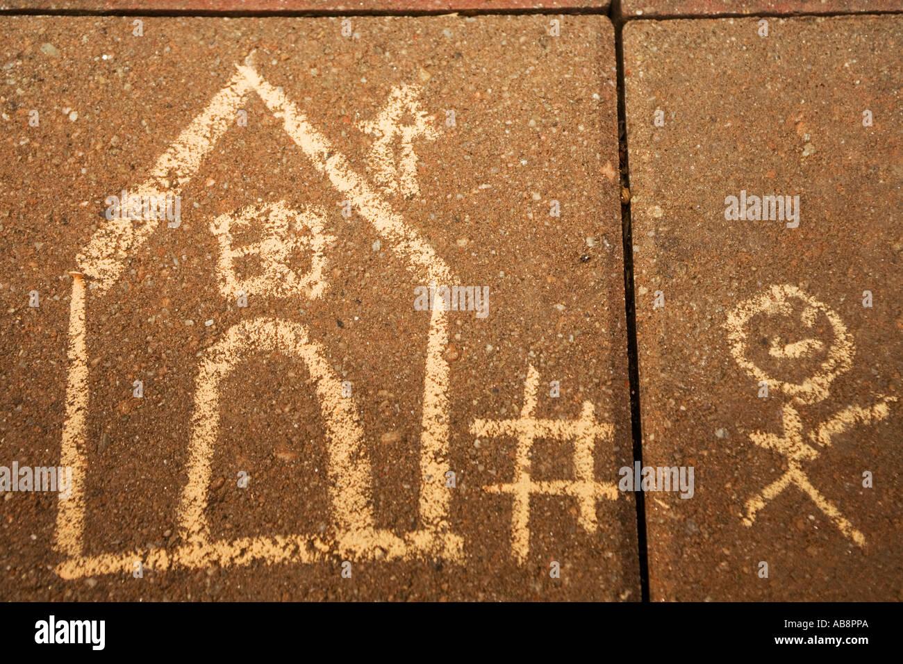Sweet Home 3d Fußboden Texture ~ Chalk drawing tile stockfotos & chalk drawing tile bilder alamy
