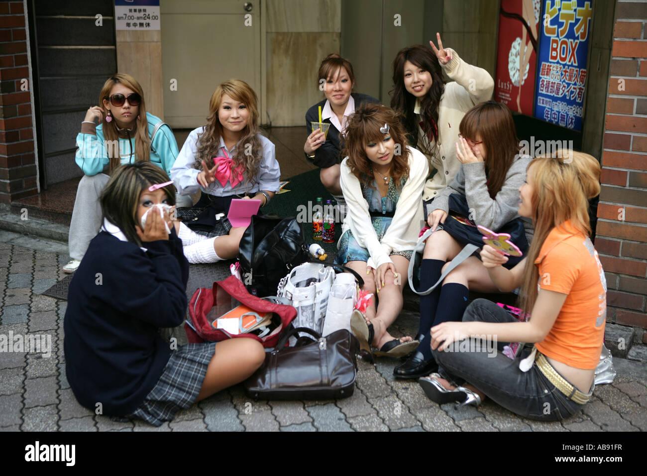 Mädchen in Tokio