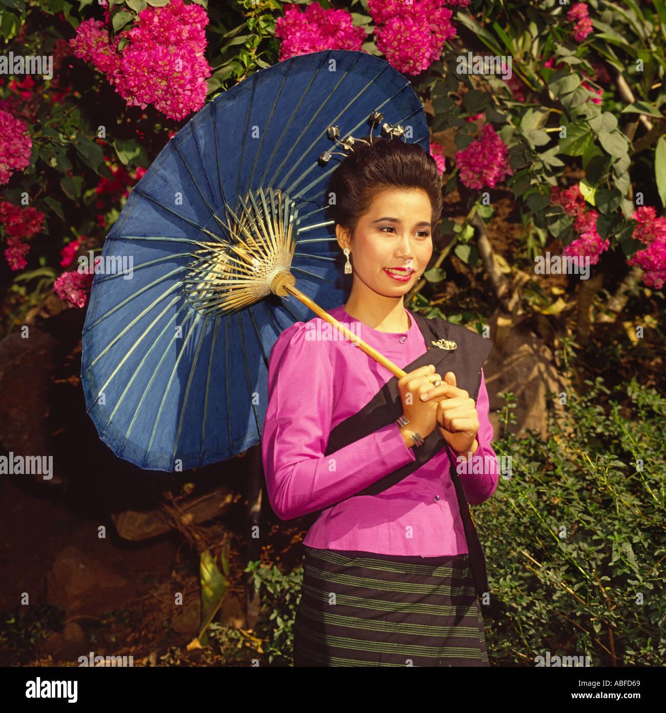 Einzelne thailändische Mädchen
