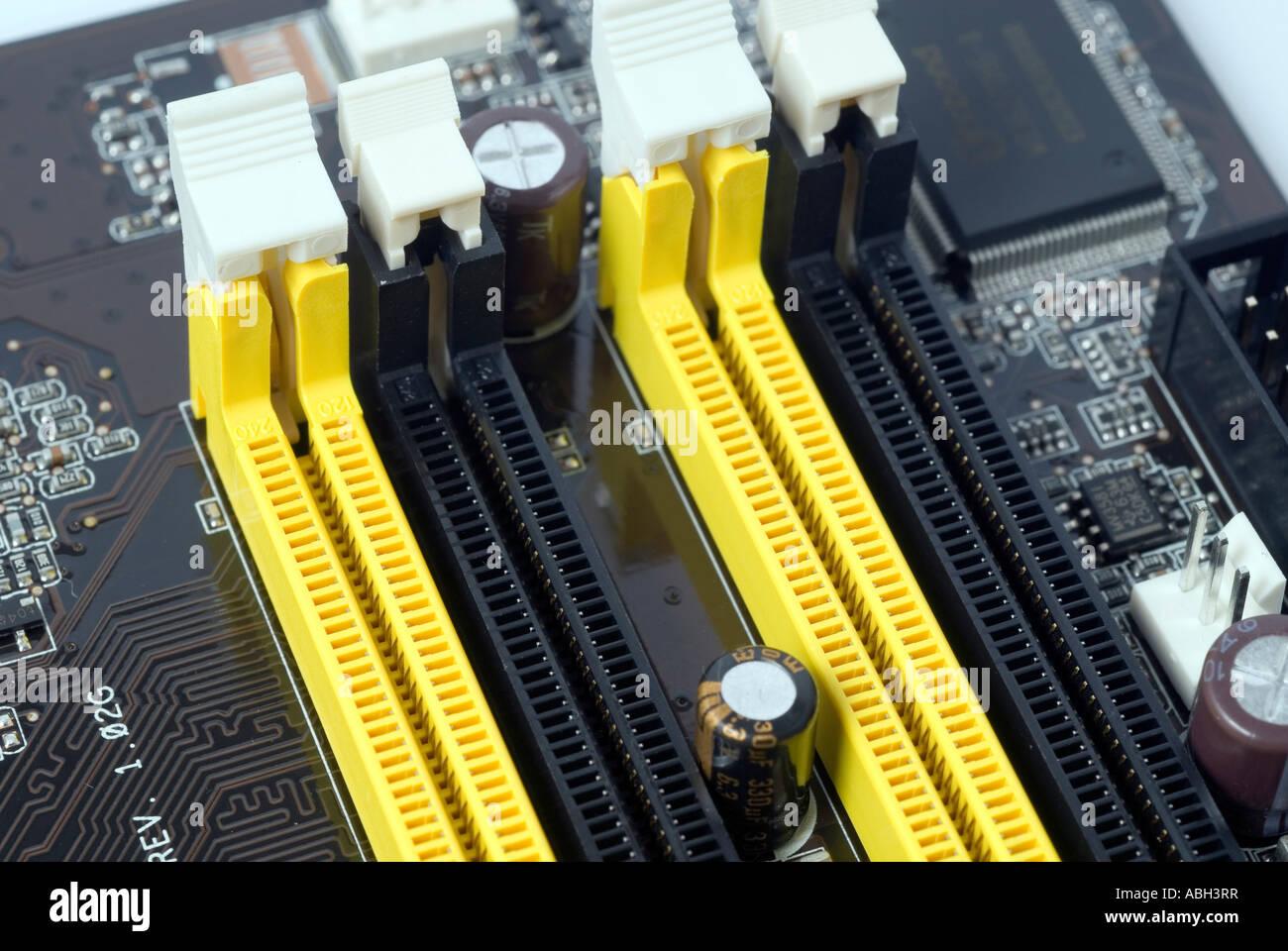 Motherboard Stockbild