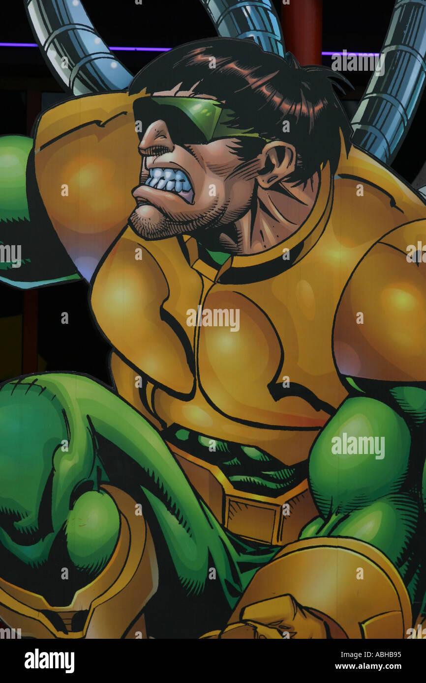 Comic-Strip Charakter universal studios Stockbild