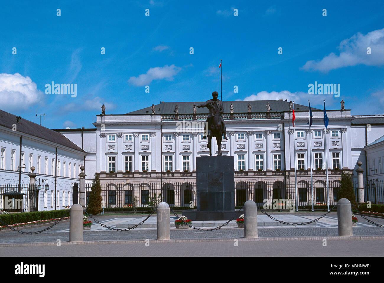 Radziwill Palast Royal Art Warschau Polen Stockfoto, Bild: 7371101 ...