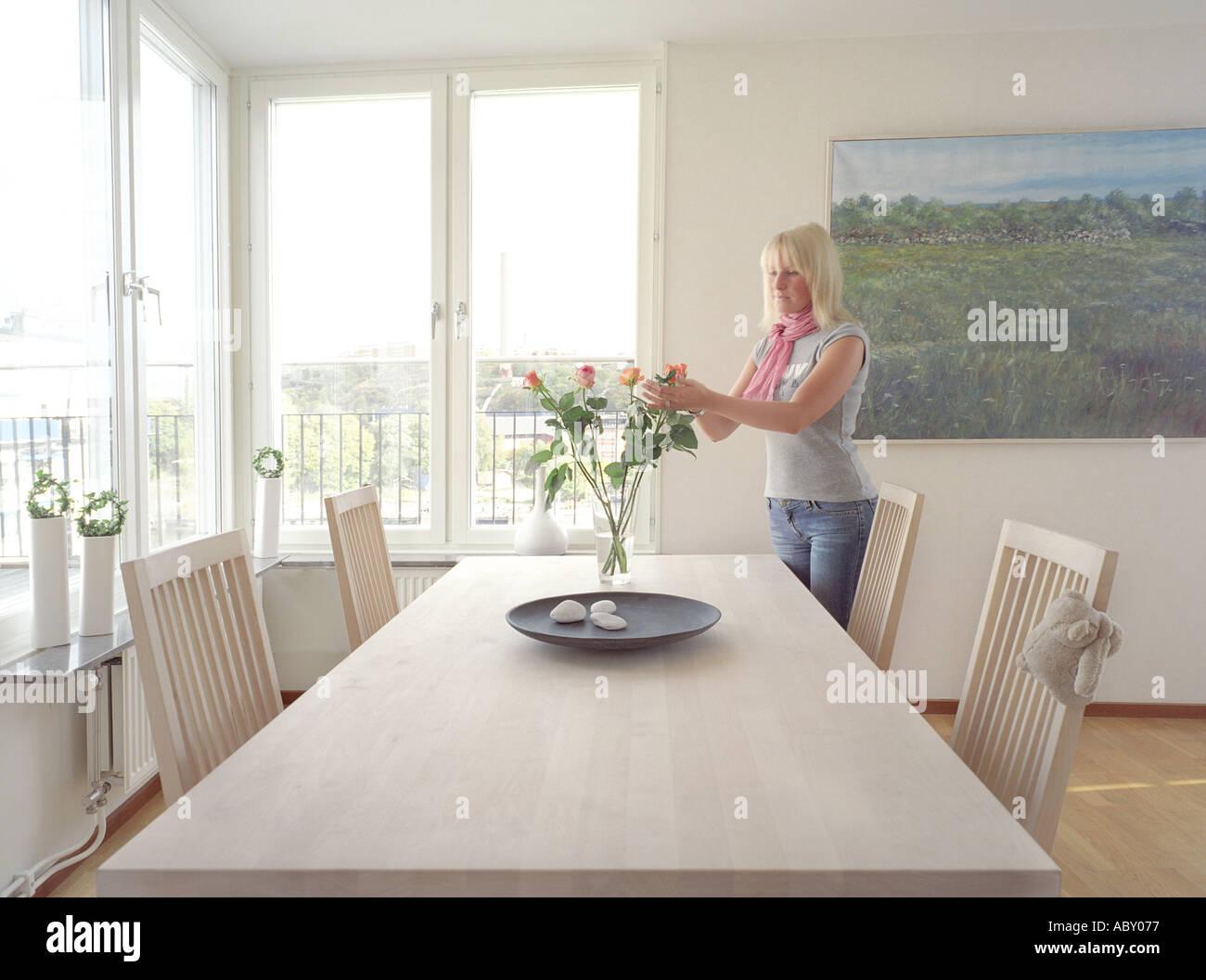 Modern trendy innenraum lifestyle schwedisch skandinavisch
