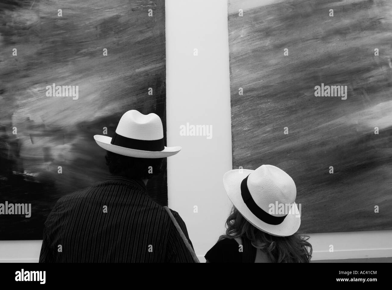 Kunstausstellung Stockbild