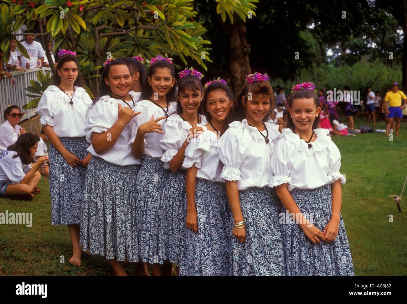 hawaii insel madchen