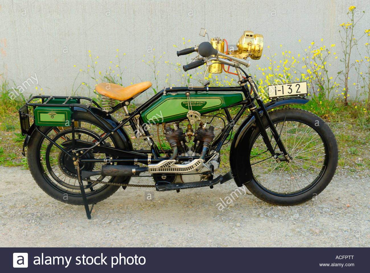 wanderer motorrad oldtimer stockfoto bild 13144391 alamy. Black Bedroom Furniture Sets. Home Design Ideas