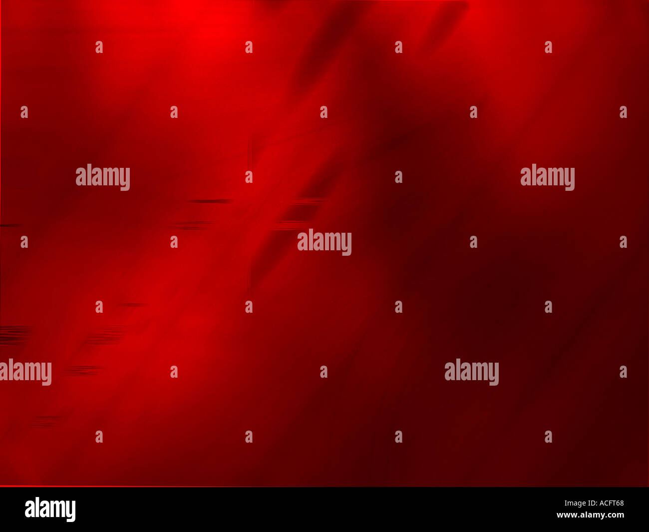 Roten computergenerierte Gestaltung Stockbild