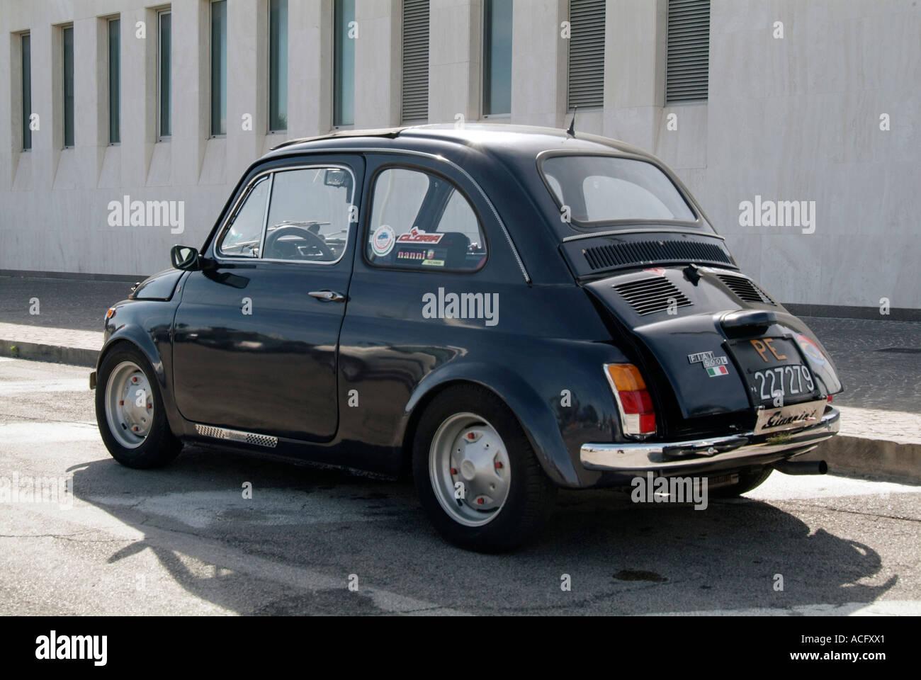 Fiat 500 Auto Stadt Klein Autos Kleine Italienische Autos
