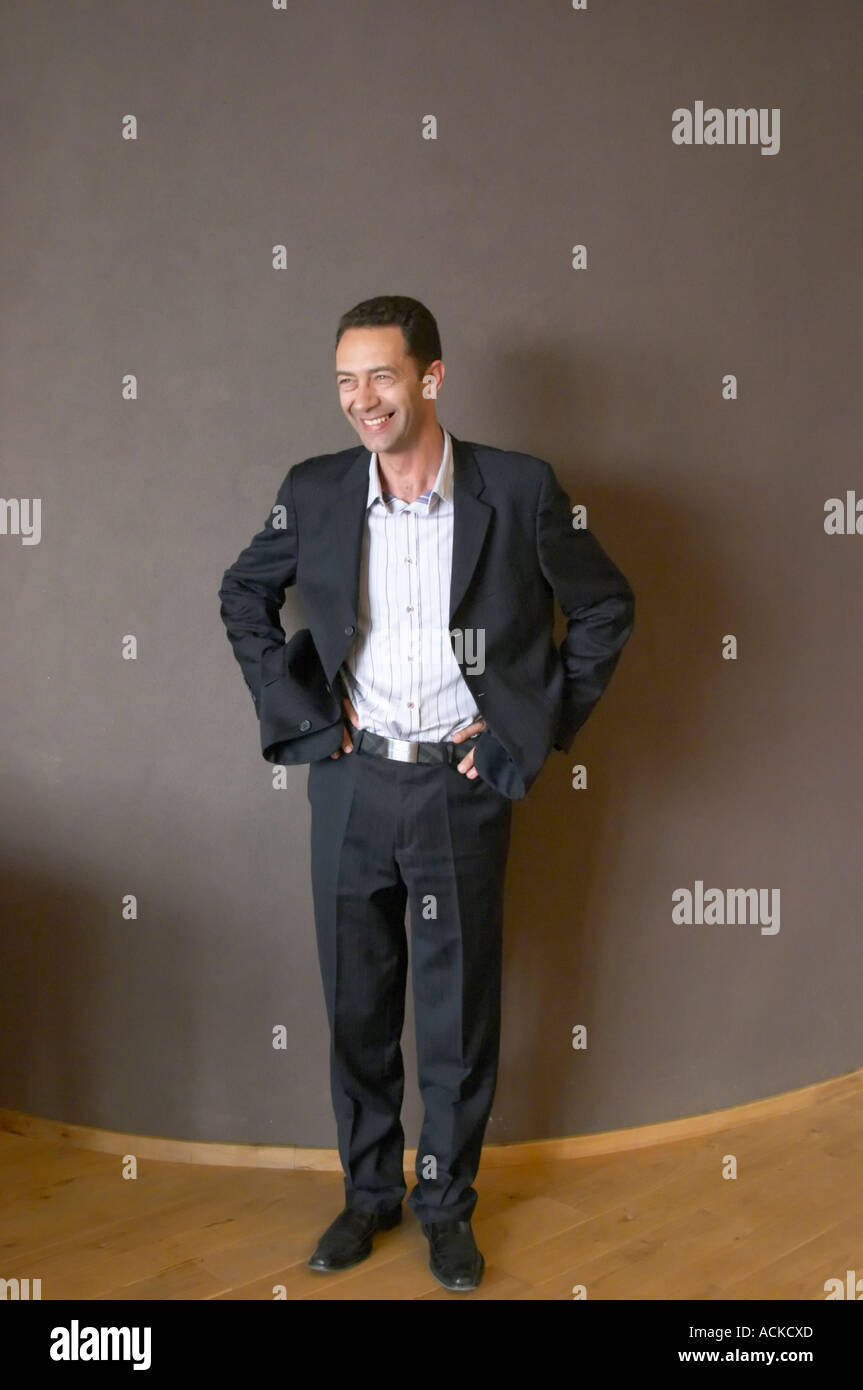 Thierry Blanc, der Besitzer des Restaurant, das Restaurant ...
