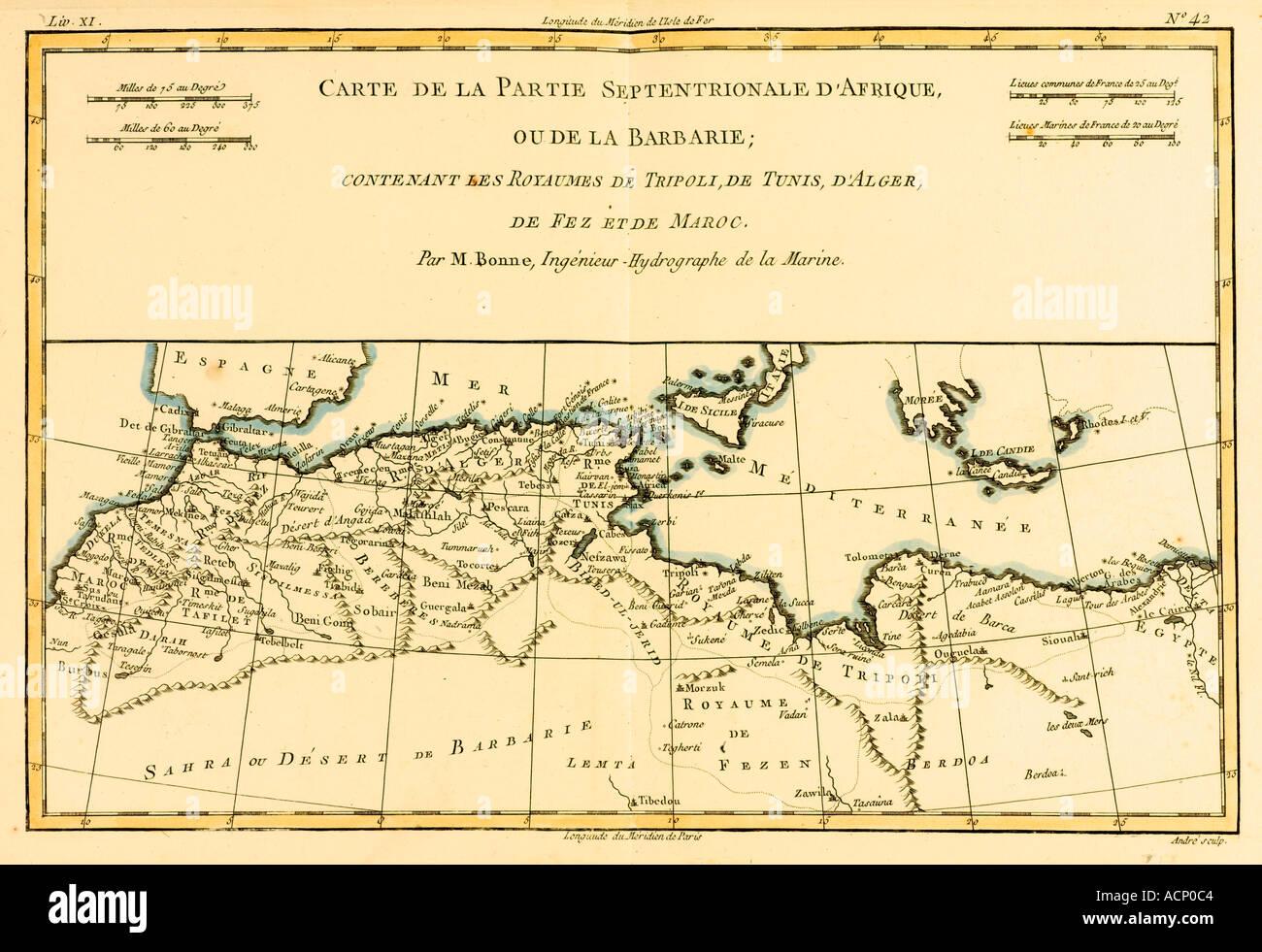 North Africa Map Stockfotos & North Africa Map Bilder - Alamy