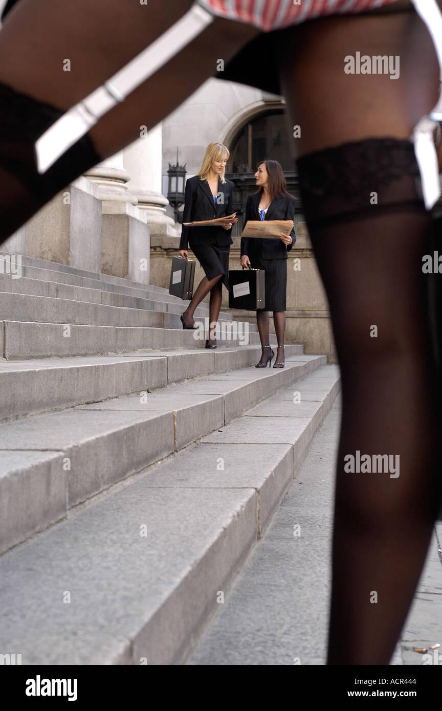 Geschäftsfrauen nackt Bilder