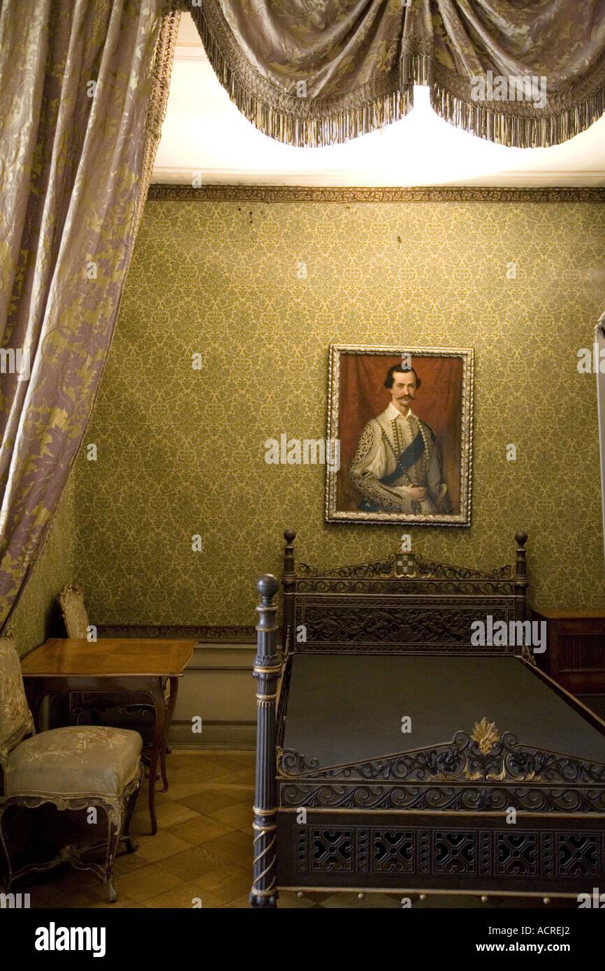 Schlafzimmer König Otto, bayerische staatliche Galerie ...