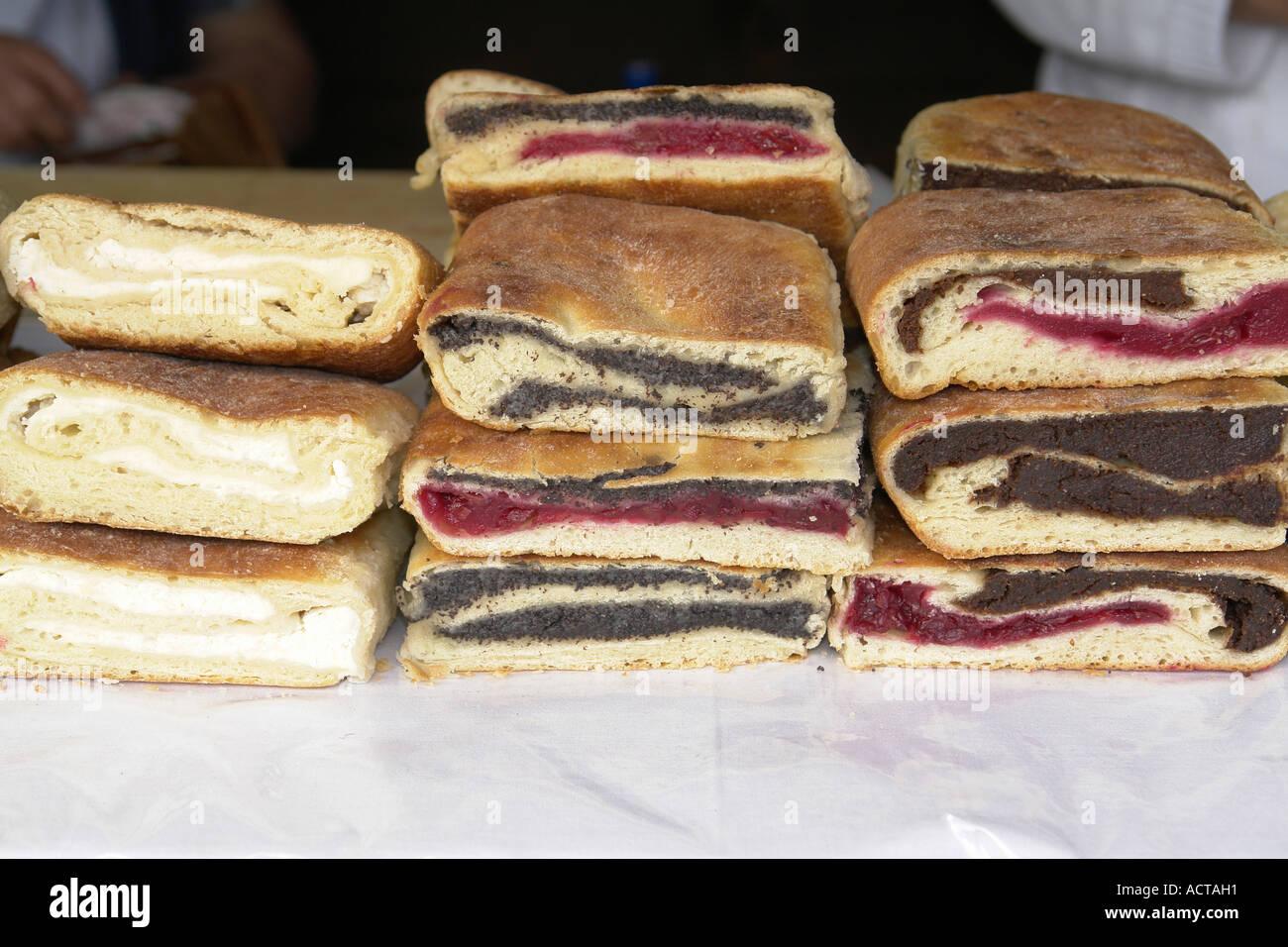 Kroatische Kuchen Stockfoto Bild 7557008 Alamy