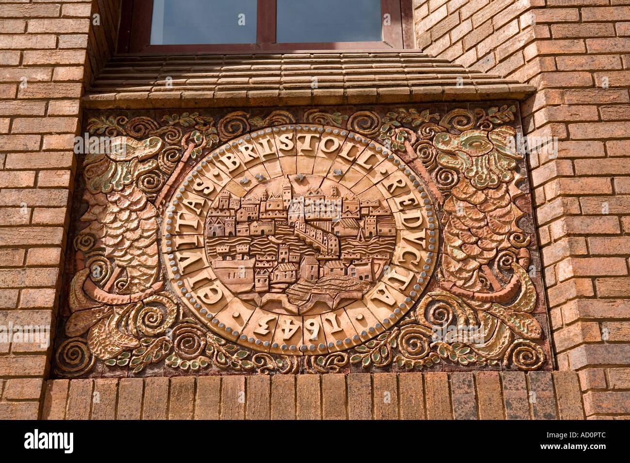 England Bristol Old City Breite Quay House Gefliest Dekoration Von Philippa  Threllfall Kennedy Collings Stockbild