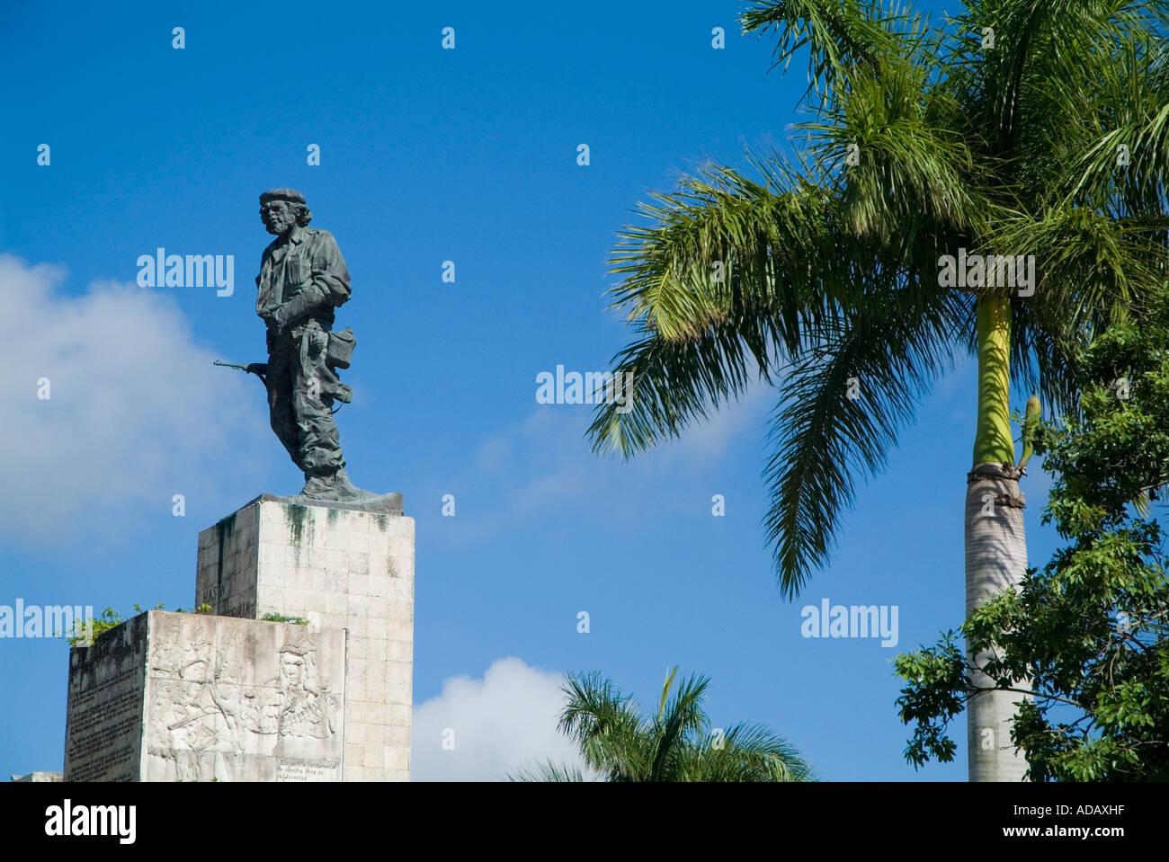 Che-Guevara-Denkmal auf der Plaza De La Revolucion, Santa Clara, Villa Clara, Kuba. Stockbild