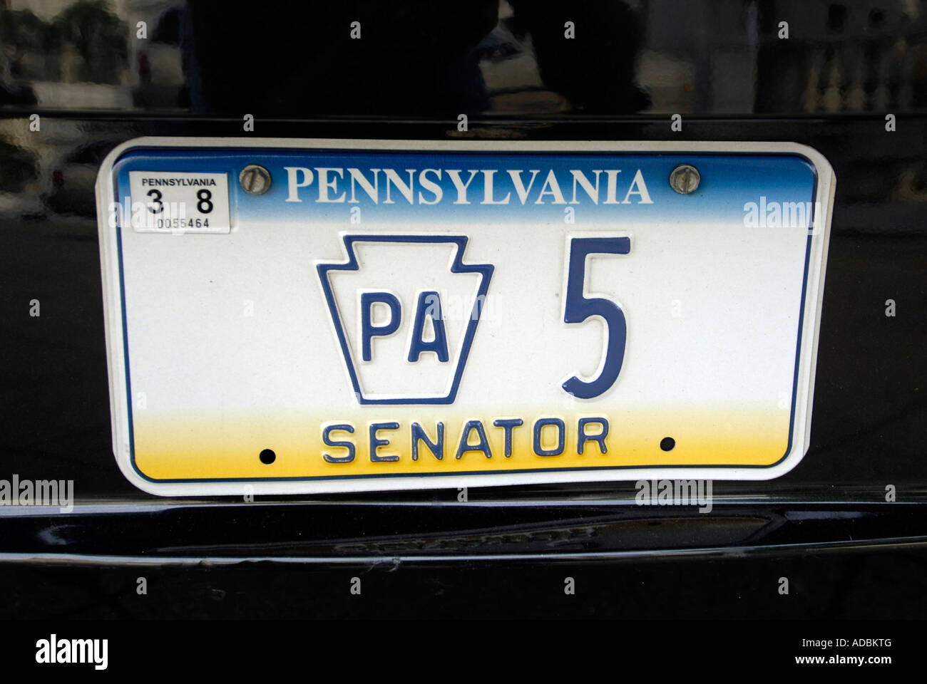 Car Auto License Plate Tag Stockfotos & Car Auto License Plate Tag ...