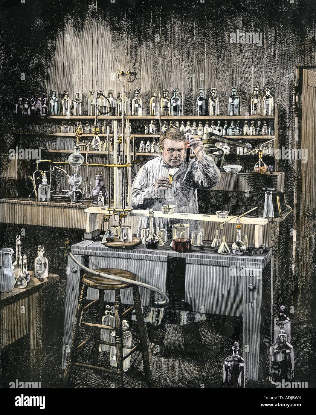 Thomas Alva Edison Stockfotos & Thomas Alva Edison Bilder