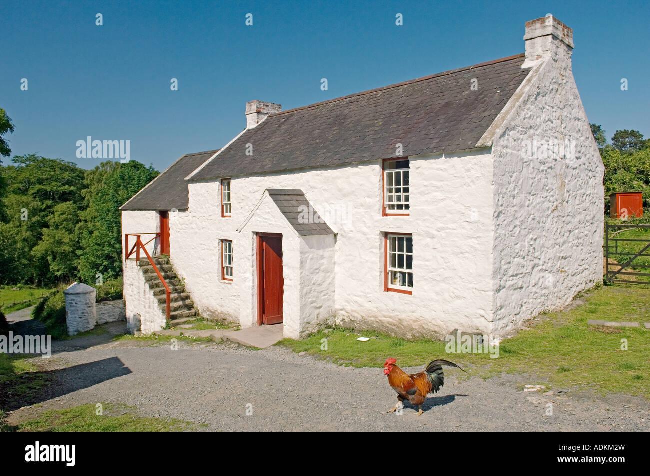 19th Century Farm House Stockfotos & 19th Century Farm House Bilder ...