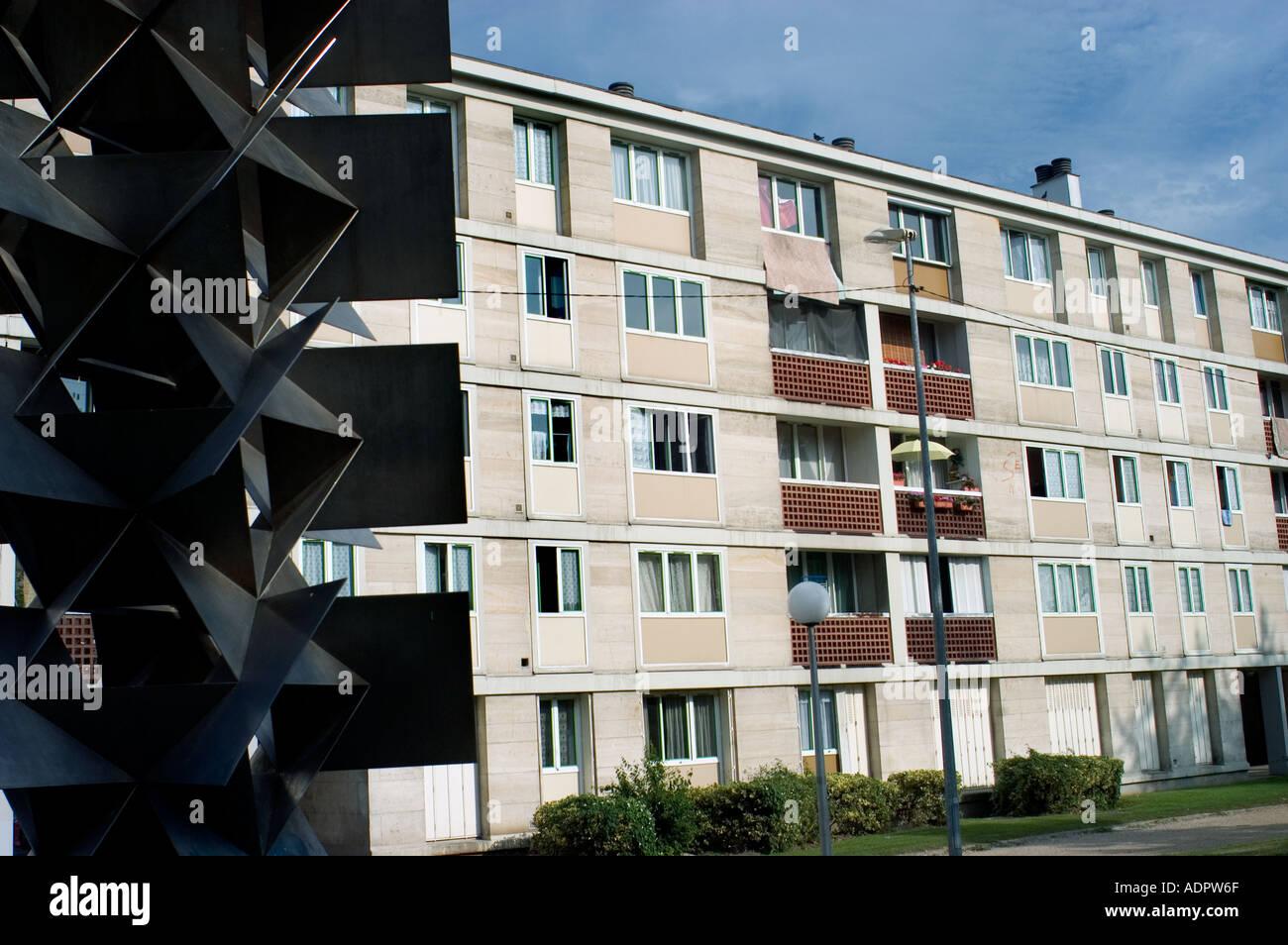 Frankreich, moderne Wohnarchitektur \' öffentliche Apartments\