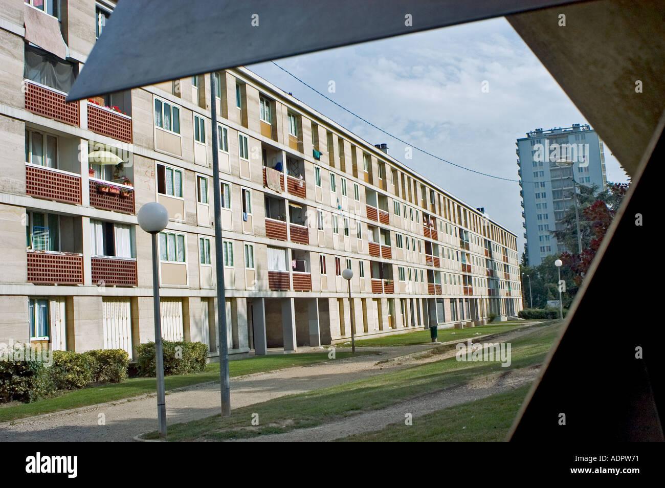 Gebäude Frankreich moderne Wohnarchitektur öffentlichen Apartments ...