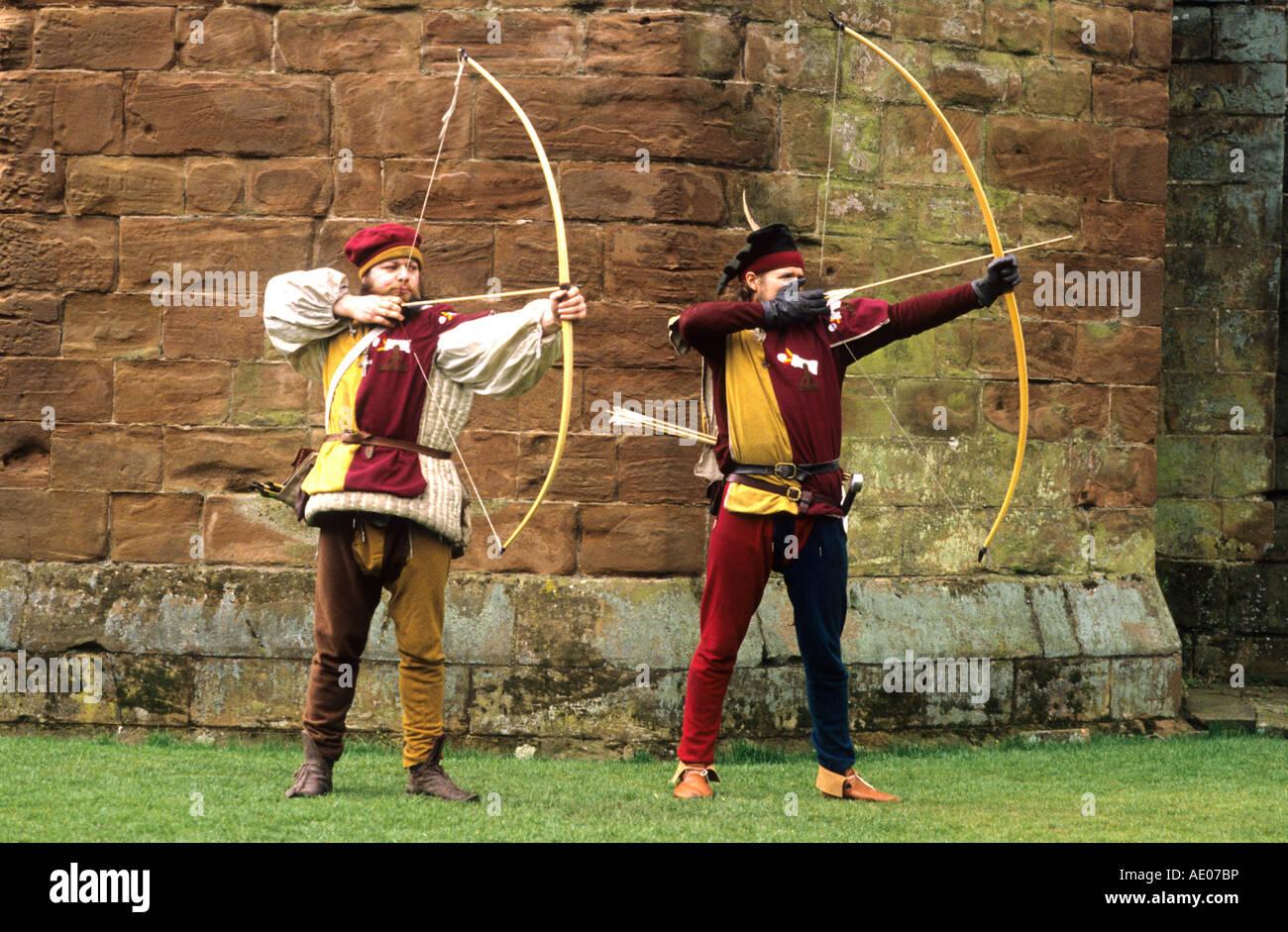 Mittelalterlicher Bogenschütze