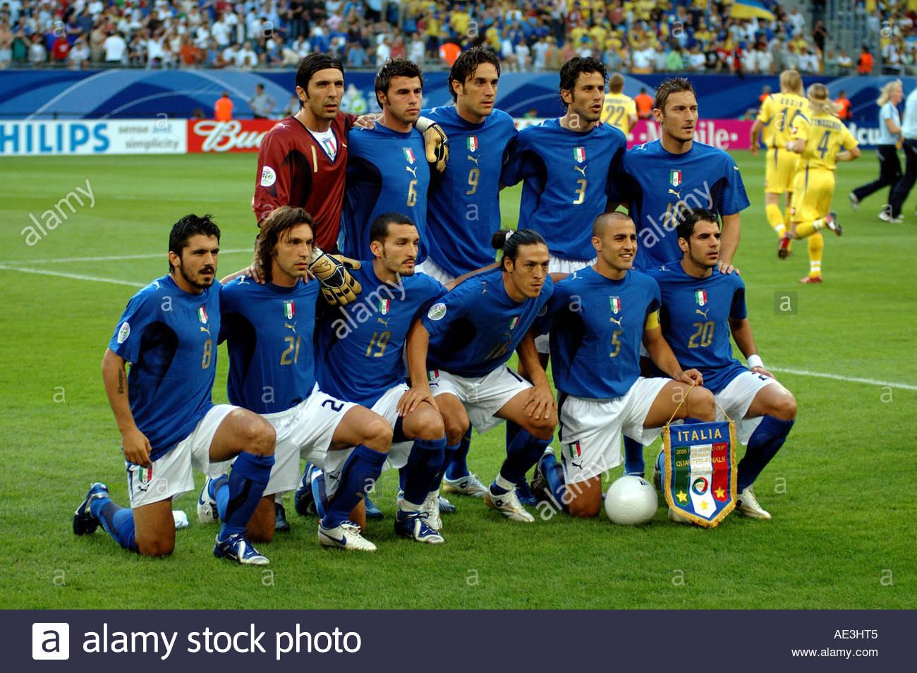 Italienische Mannschaft 2006