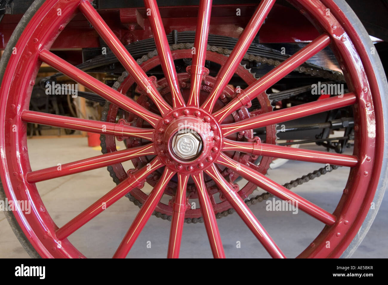 Spokes Wheel Stockfotos & Spokes Wheel Bilder - Alamy