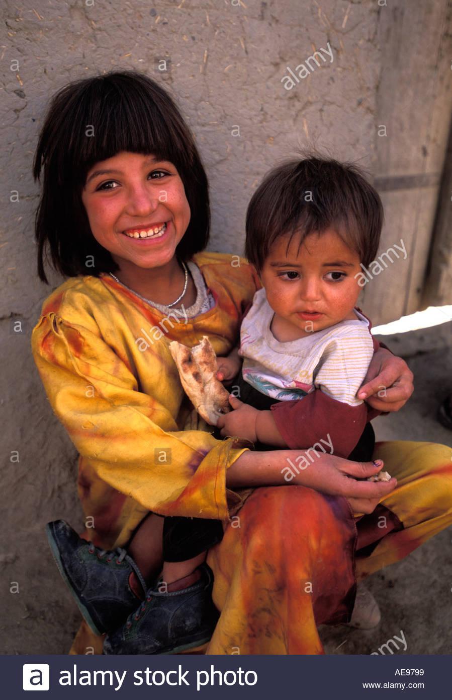 Schwestern-Kabul-Afghanistan Stockbild