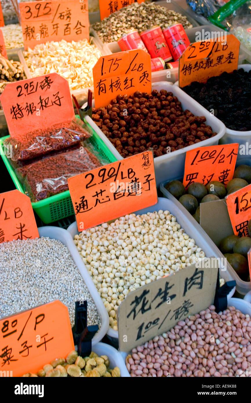 Stall zu verkaufen getrocknete chinesische Küche Nuss und Körner bei ...