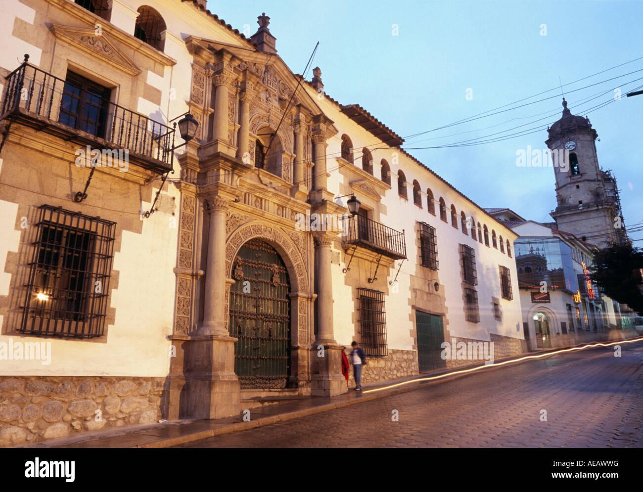 Casa real de la moneda potosi bolivien stockfoto bild for Casa actual