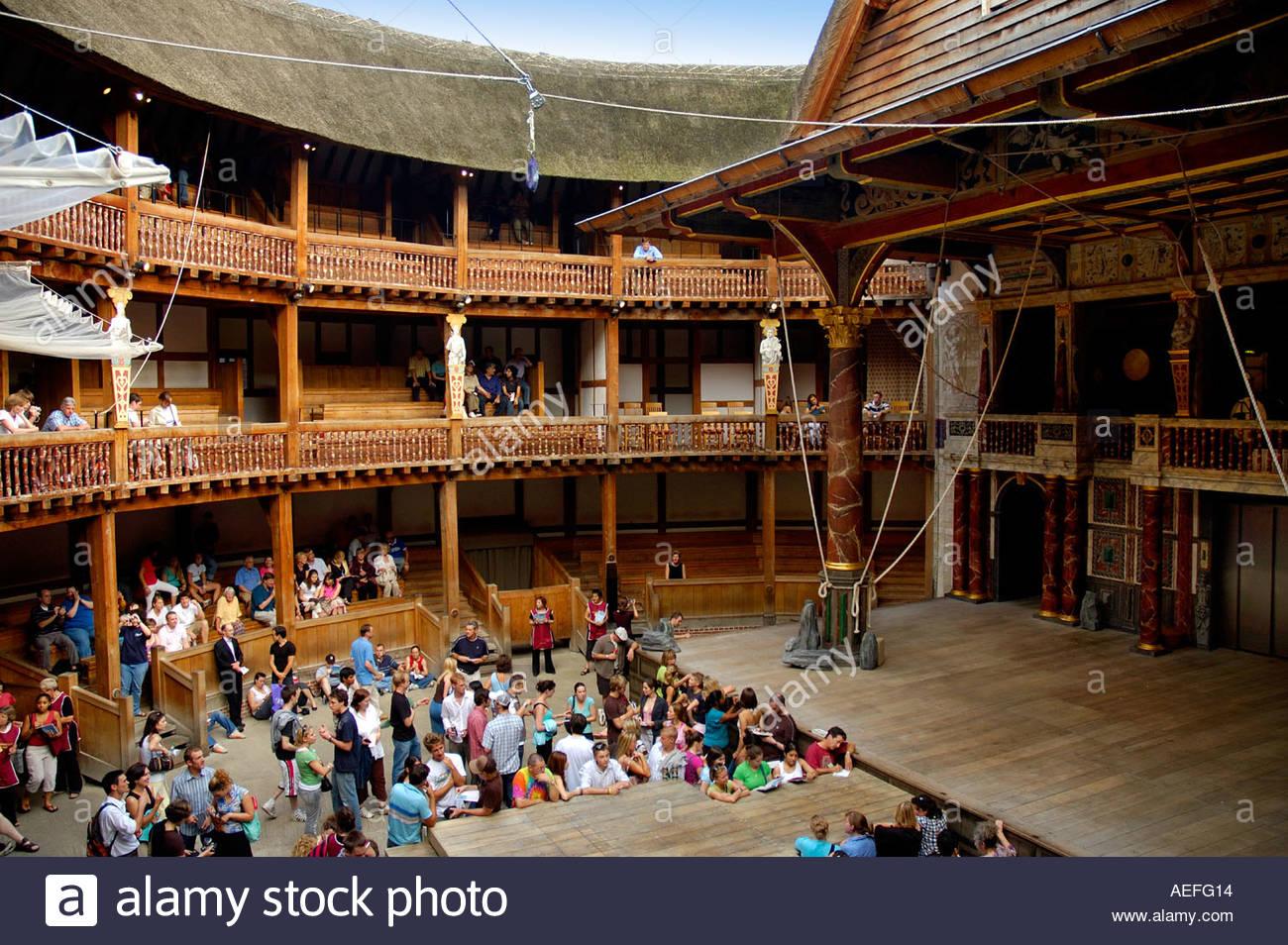 Shakespeare Theatre Stage Interior Stockfotos & Shakespeare Theatre ...