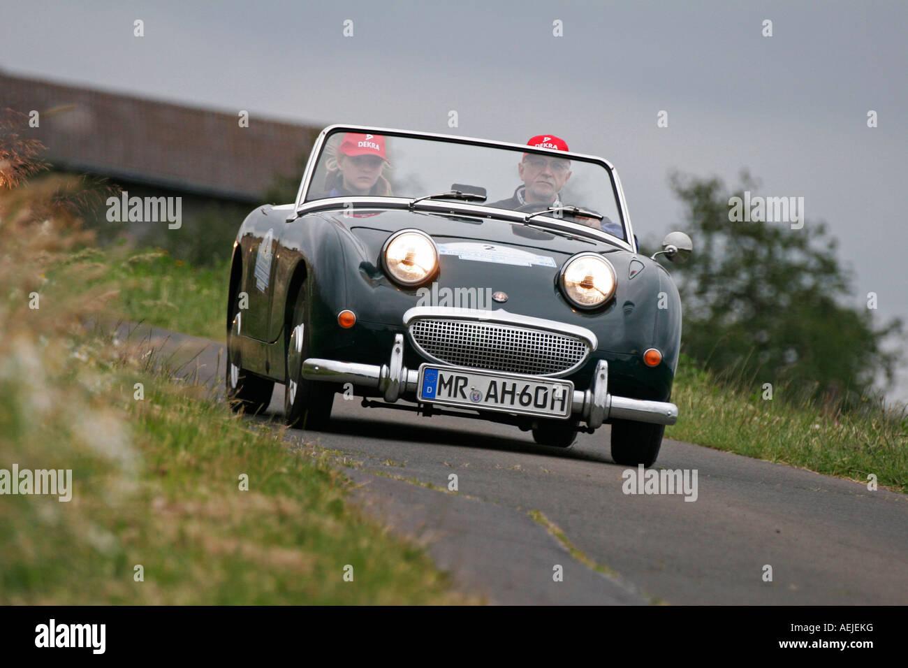 """Austin Healey Sprite MK 1 """"Frog Eye"""", Baujahr 1960 Stockbild"""