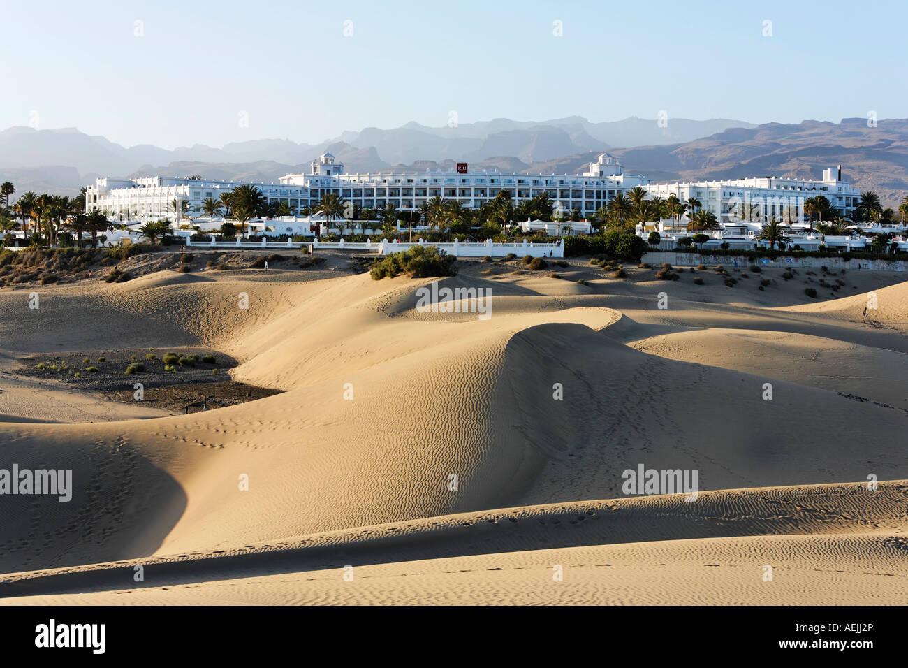 Hotel Riu Palace, Playa del Ingles, Gran Canaria, Spanien Stockbild